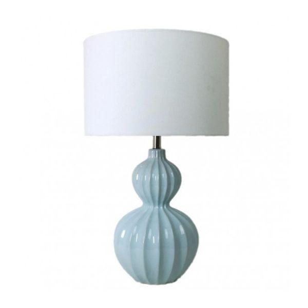Curved Hamptons Lamp