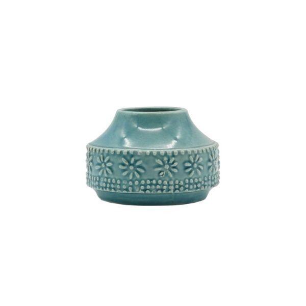 Teal Blue Homewares Vase - Small