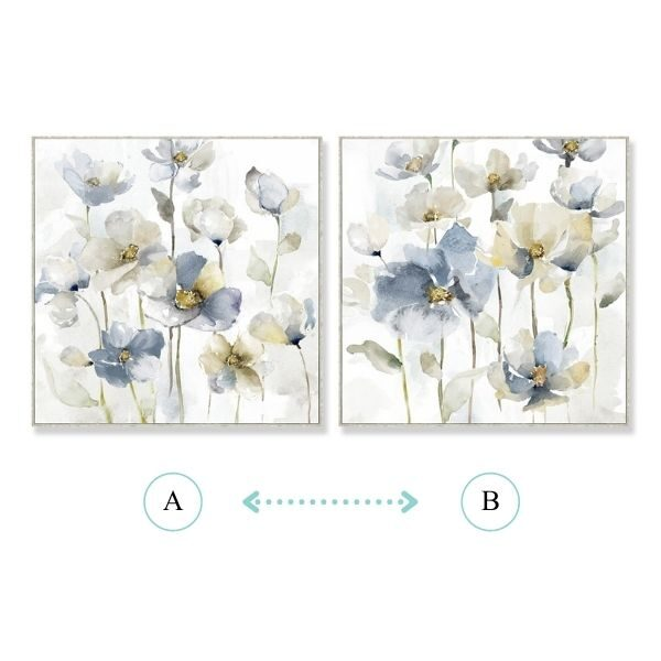 Floral Canvas Artwork
