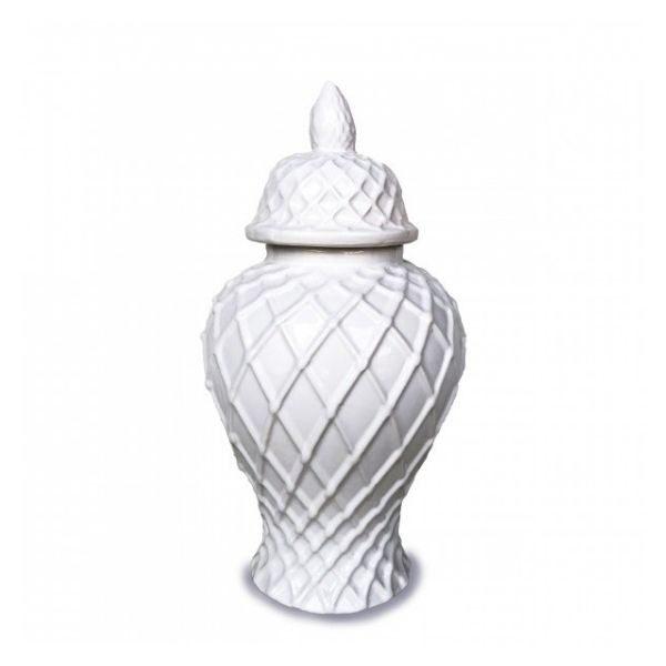 Lattice Temple Ginger Jar