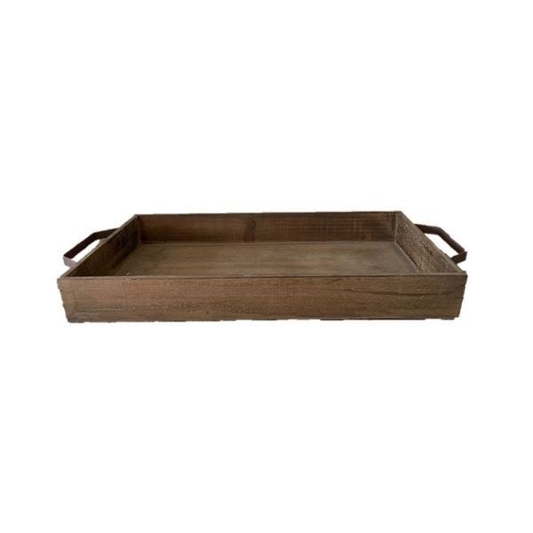 Rustic Wooden Tray Large