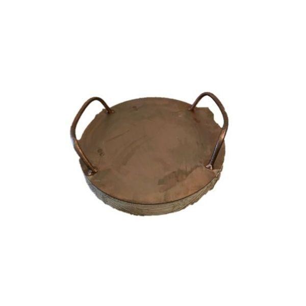 Round Homewares Tray - Medium Copper