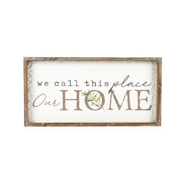 'Our Home' Sign